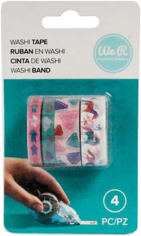 Kit Washi Tapes Unicórnios c/ 4 un - We R  - Minas Midias