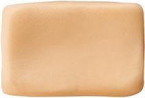 Massa para Biscuit Amarelo Pele Acrilex  - Minas Midias