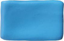 Massa para Biscuit Azul Celeste Acrilex  - Minas Midias