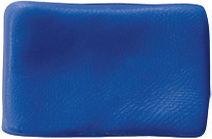 Massa para Biscuit Azul Cobalto Acrilex  - Minas Midias