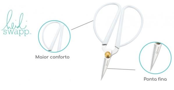 Mini Tesoura Soft (Mini Scissors Heidi Swapp)  - Minas Midias
