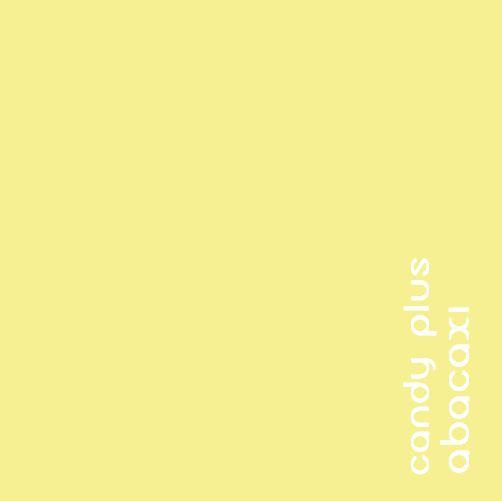 Papel Candy Plus 180g 30,5 X 30,5 cm Abacaxi - amarelo claro  - Minas Midias