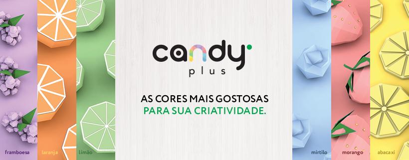 Papel Candy Plus 180g 30,5 X 30,5 cm Morango - vermelho claro  - Minas Midias