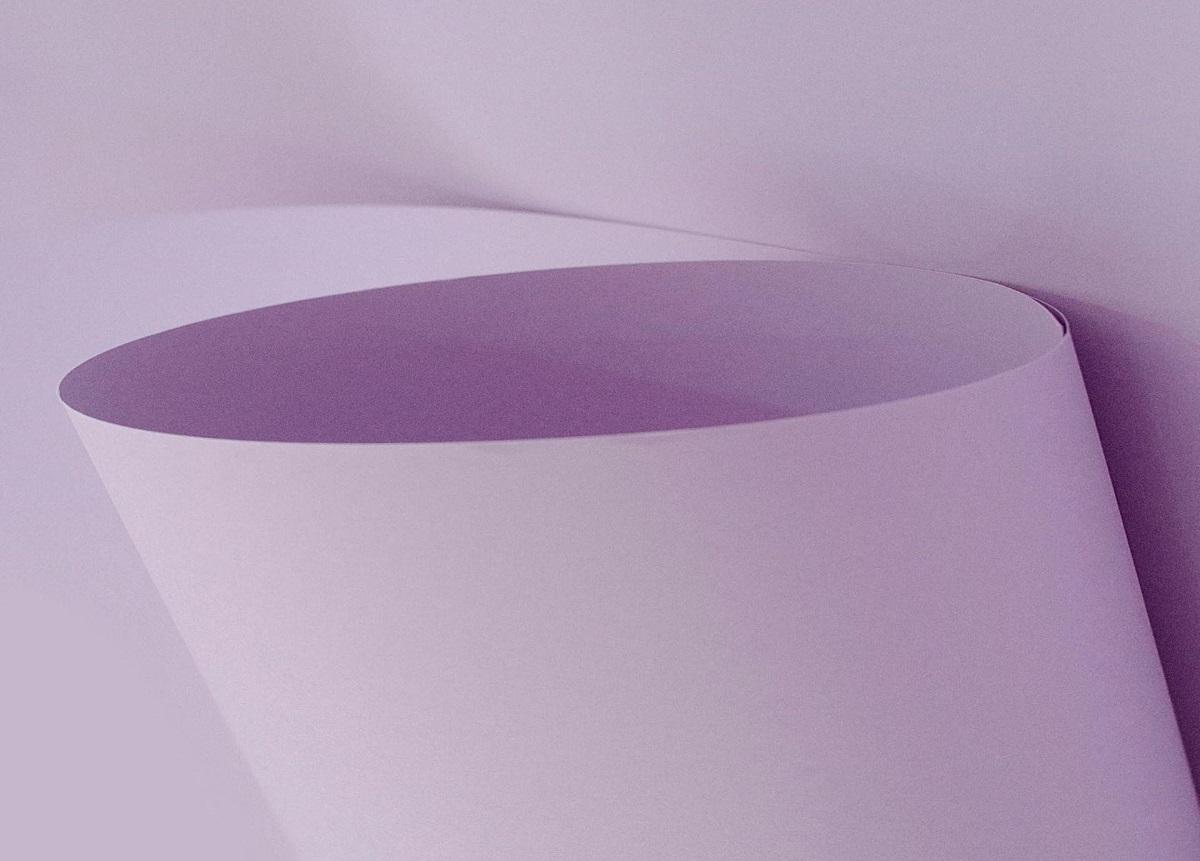 Papel Candy Plus 180g A4 Framboesa  -  roxo claro  - Minas Midias