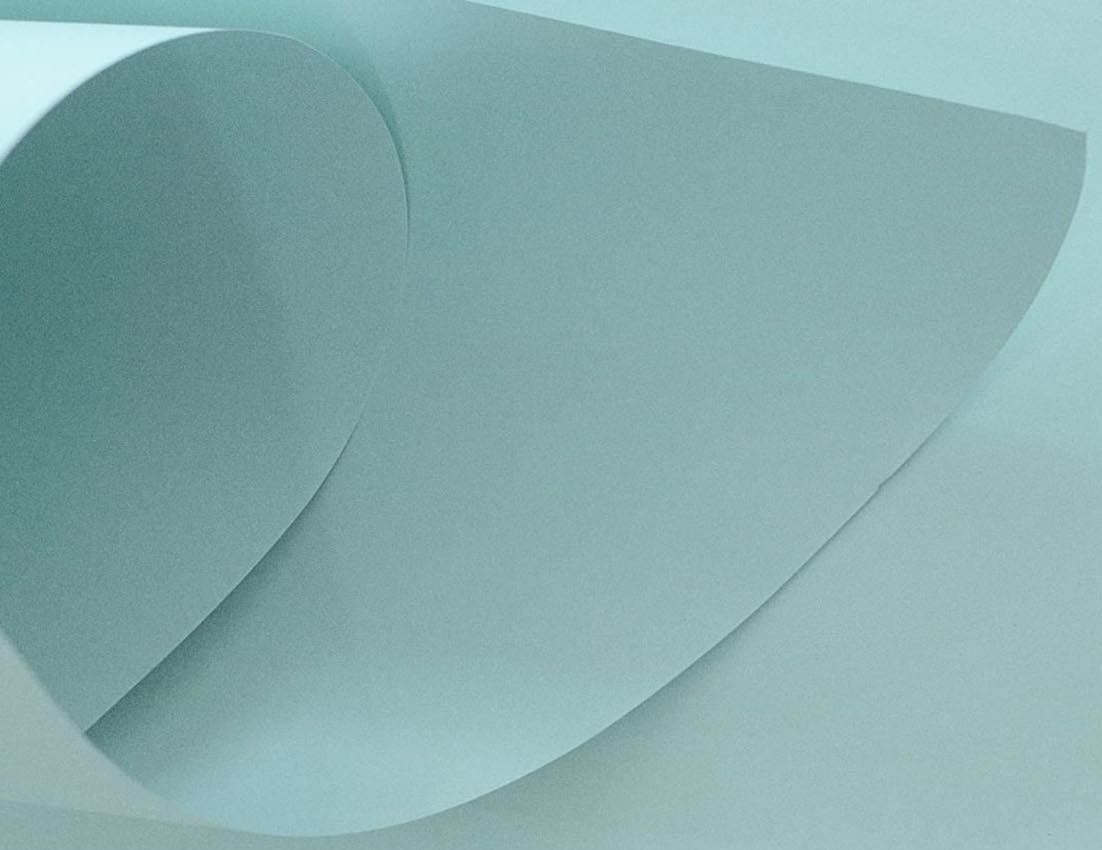 Papel Candy Plus 180g A4 Mirtilo - azul esverdeado claro  - Minas Midias