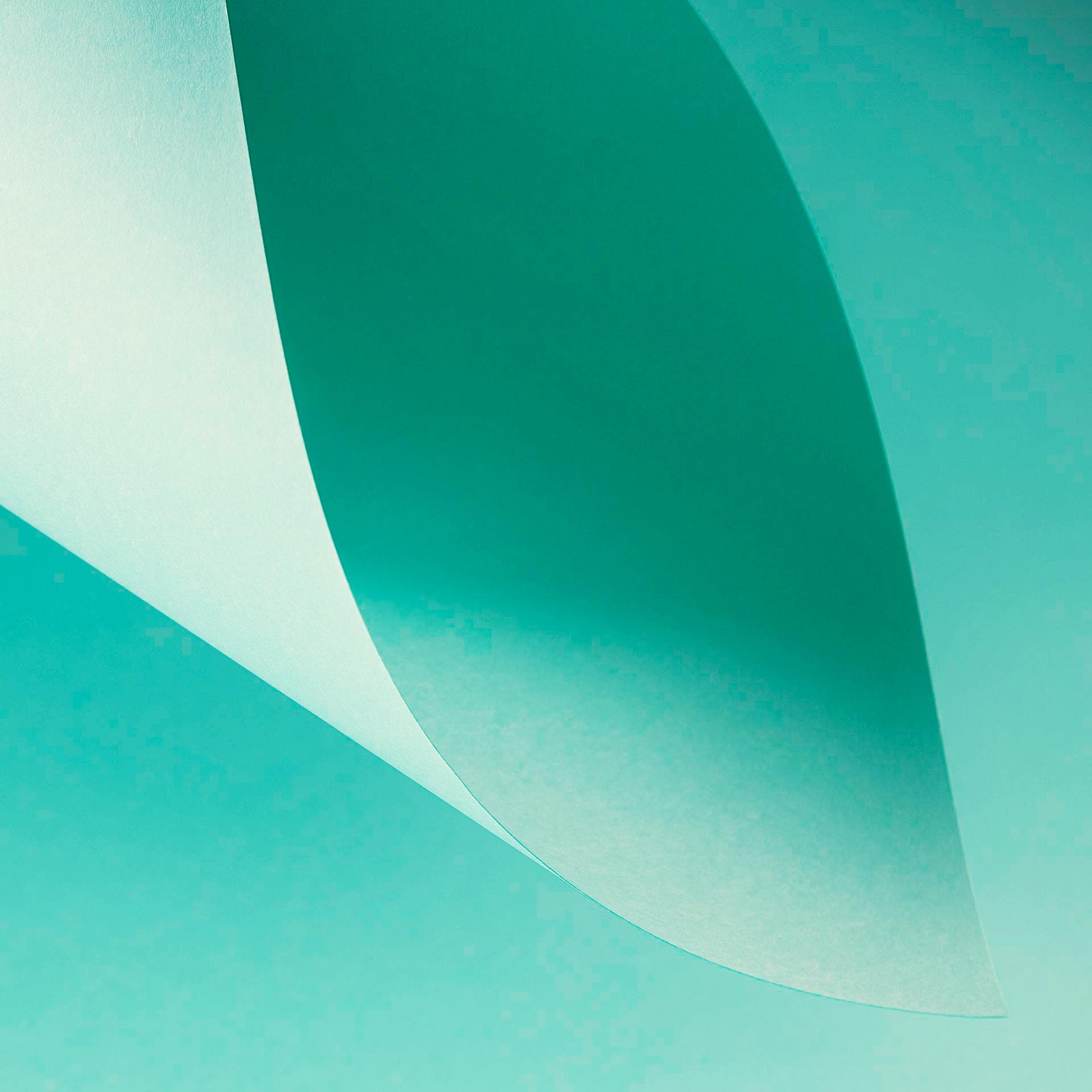 Papel Color Plus 180g 30,5 x 30,5 cm Aruba - Tiffany  - Minas Midias