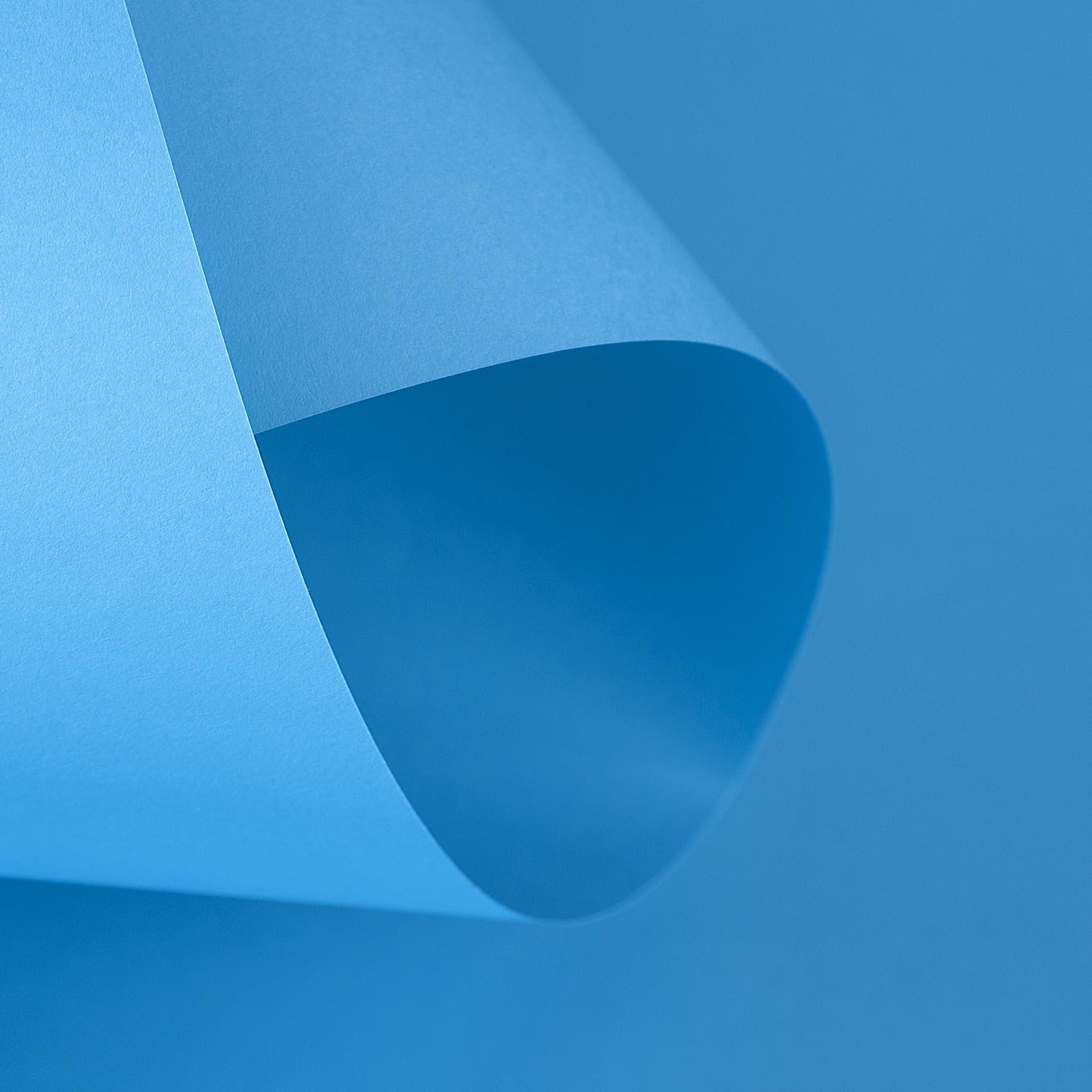 Papel Color Plus 180g 30,5 X 30,5 cm Bahamas - Azul Turquesa   - Minas Midias