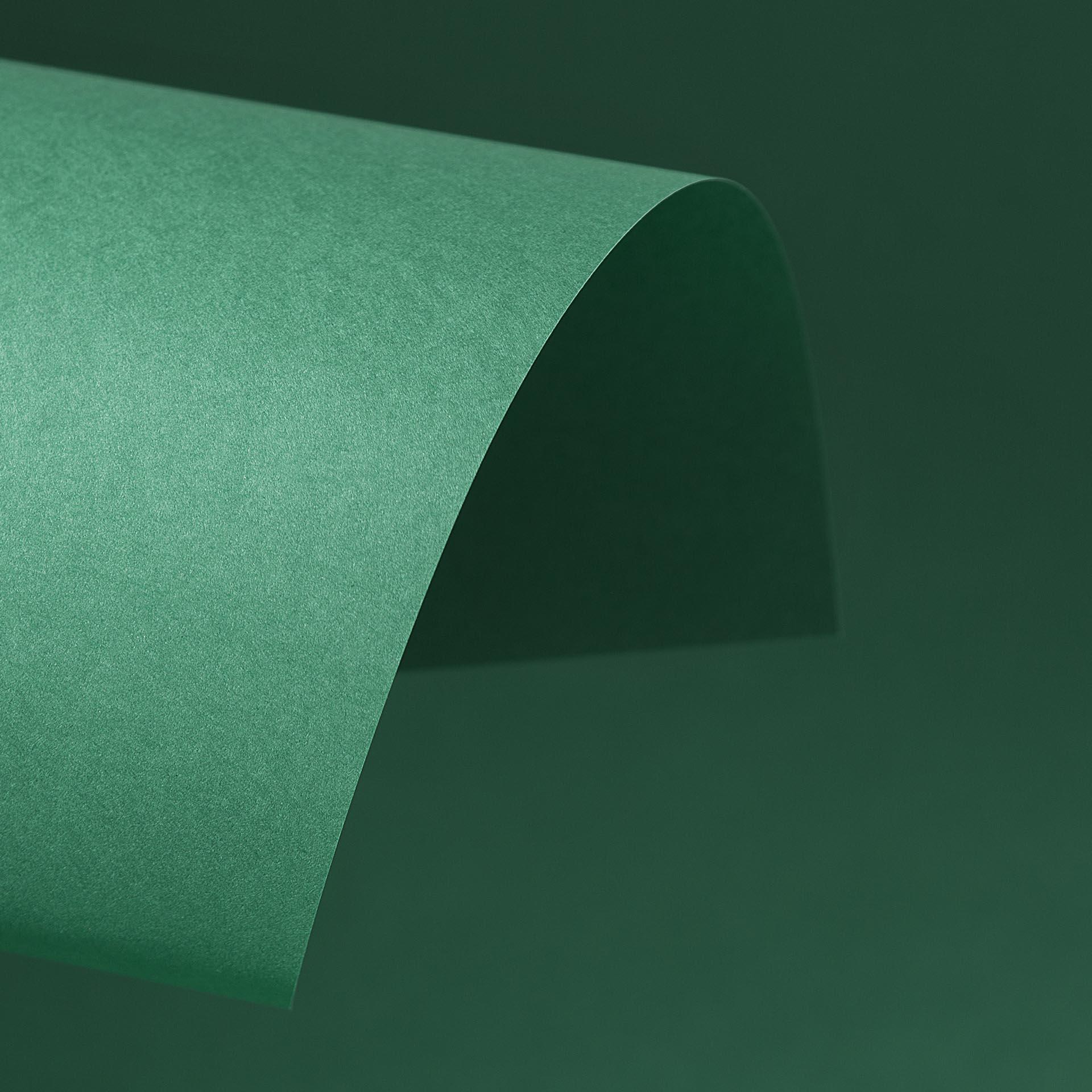 Papel Color Plus 180g 30,5 x 30,5 cm Brasil - Verde Bandeira  - Minas Midias