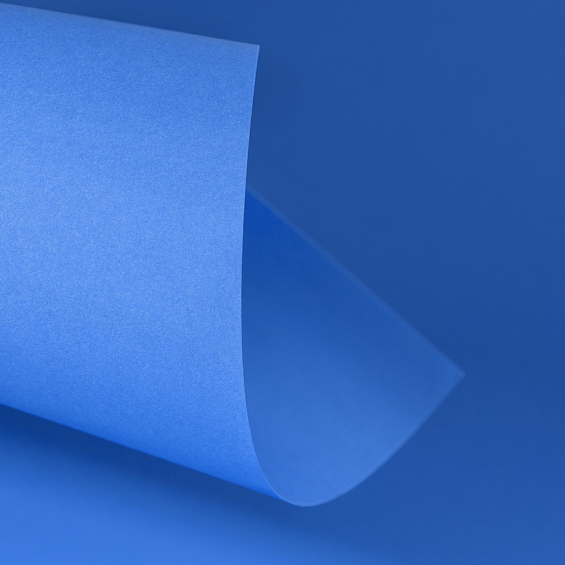 Papel Color Plus 180g 30,5 x 30,5 cm Grécia - Azul Royal   - Minas Midias