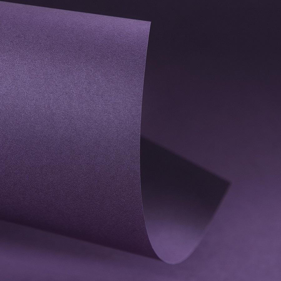 Papel Color Plus 180g 30,5 x 30,5 cm Mendoza - Roxo Açaí  - Minas Midias