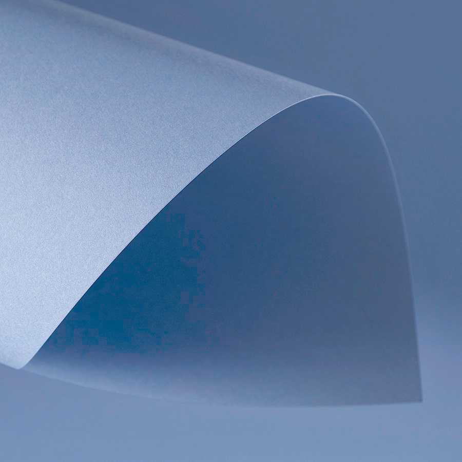 Papel Color Plus 180g 30,5 X 30,5 cm Nice - Azul Acinzentado  - Minas Midias