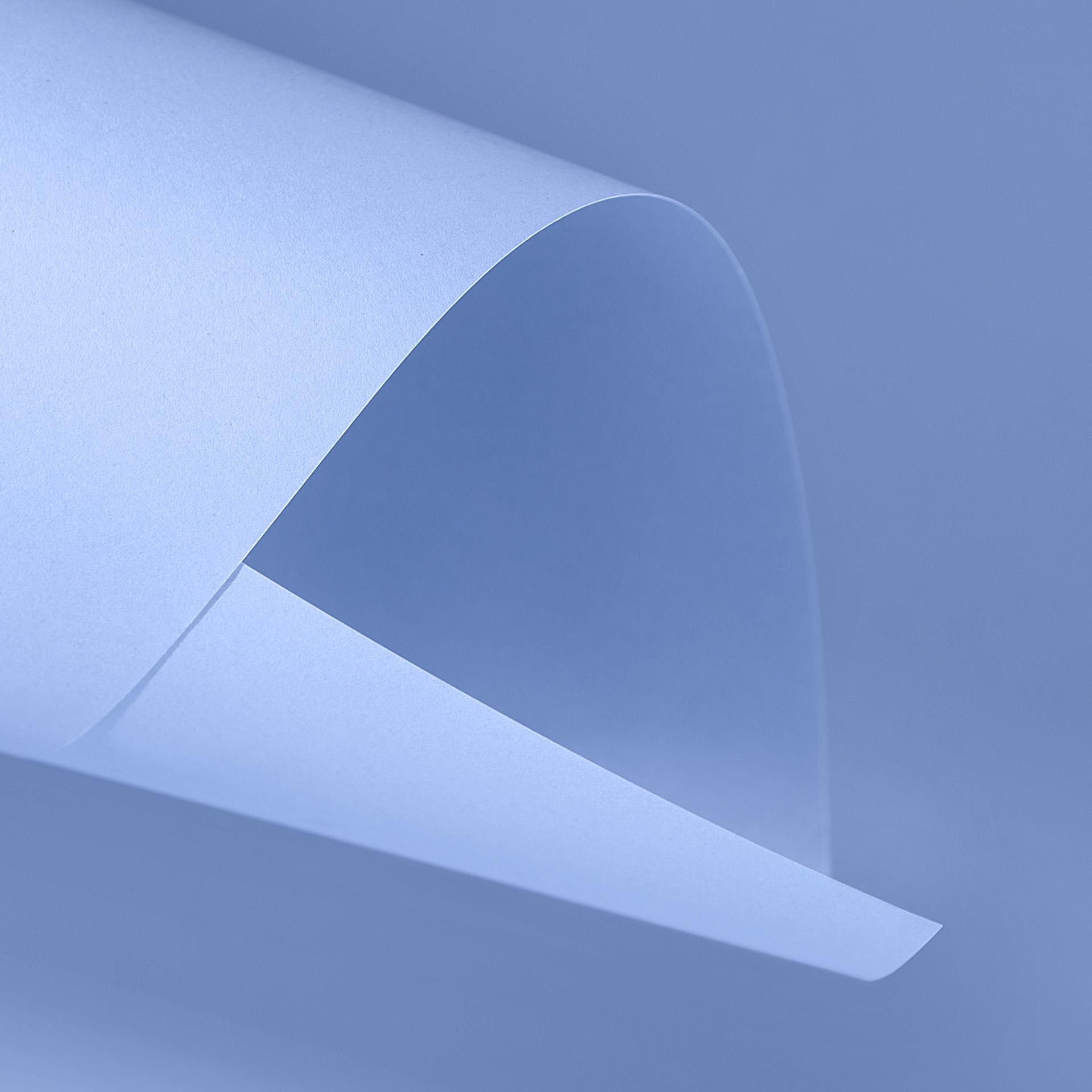 Papel Color Plus 180g 30,5 x 30,5 cm Paris - Azul Claro  - Minas Midias