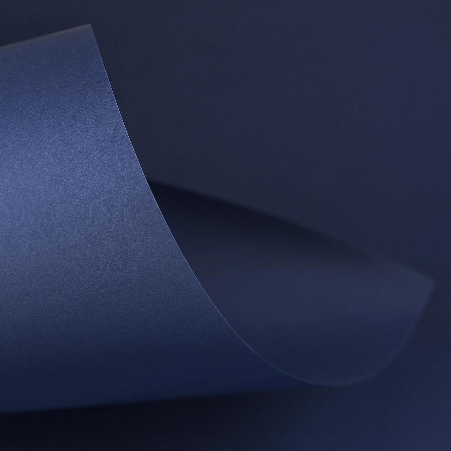 Papel Color Plus 180g 30,5 X 30,5 cm Porto Seguro - Azul Marinho   - Minas Midias