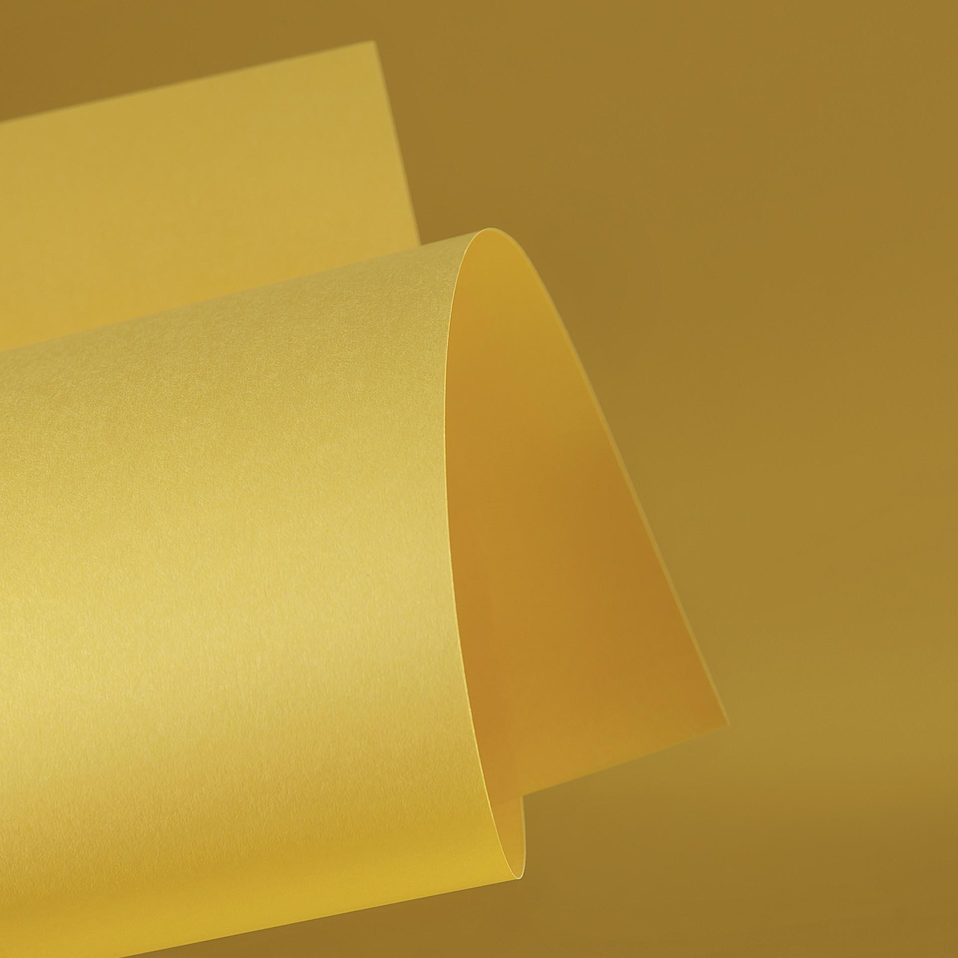 Papel Color Plus 180g 30,5 X 30,5 cm Rio de Janeiro - Amarelo  - Minas Midias
