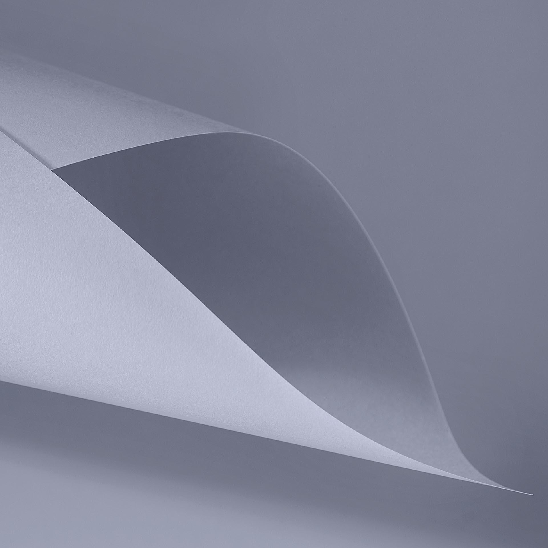 Papel Color Plus 180g 30,5 x 30,5 cm Roma - Cinza Claro  - Minas Midias