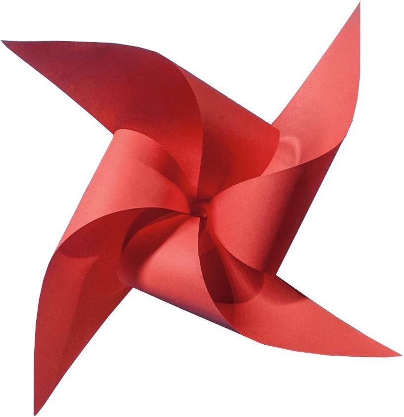 Papel Color Plus 180g 30,5 x 30,5 cm Tóquio - Vermelho  - Minas Midias