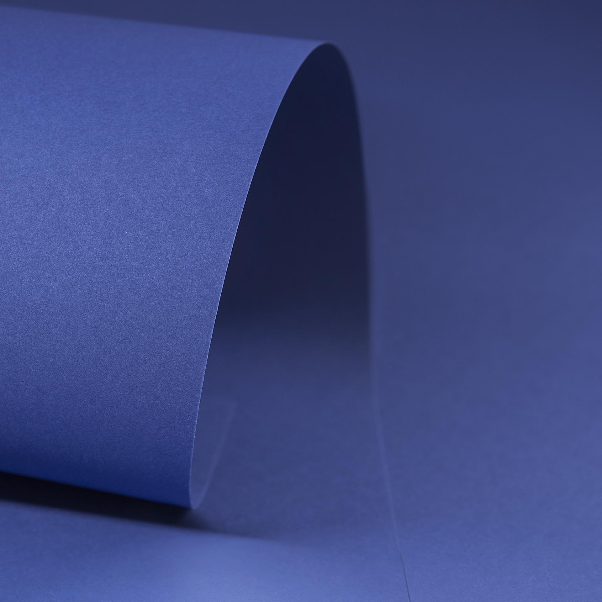 Papel Color Plus 180g 30,5 X 30,5 cm Toronto - Azul Escuro  - Minas Midias