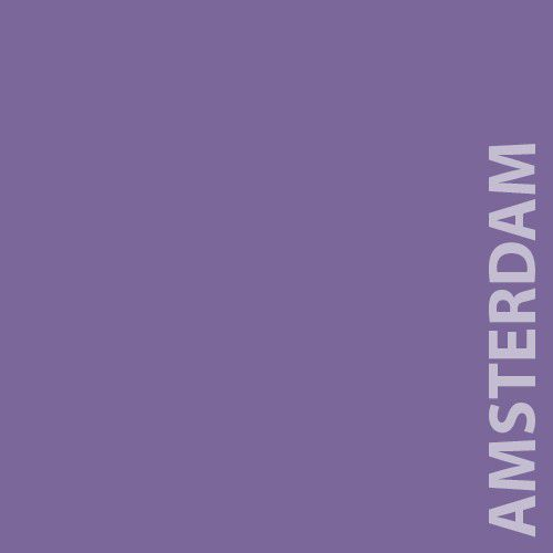 Papel Color Plus 180g A4 Amsterdam - Roxo  - Minas Midias