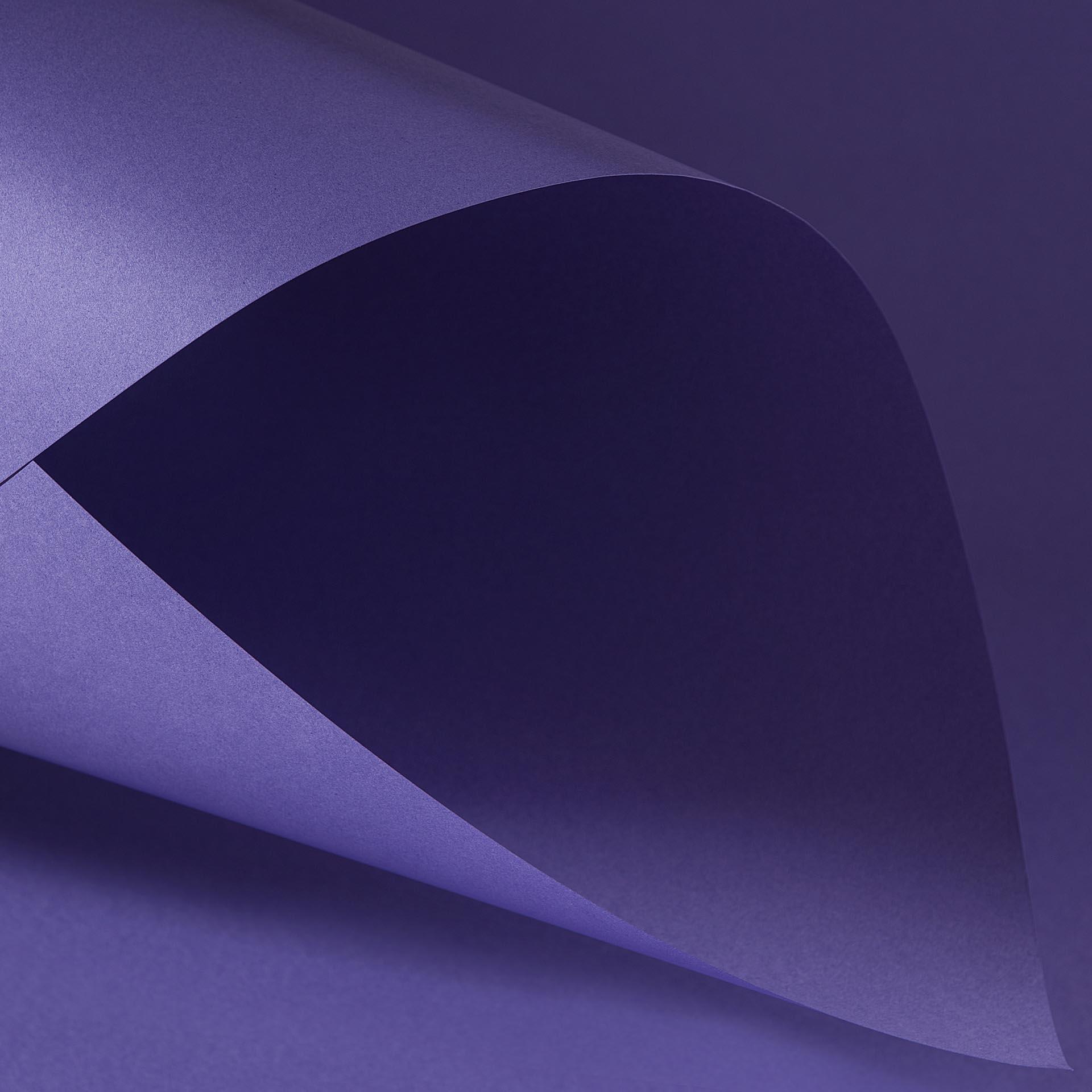 Papel Color Plus 180g A4 Amsterdam - Roxo  - Minas Midias