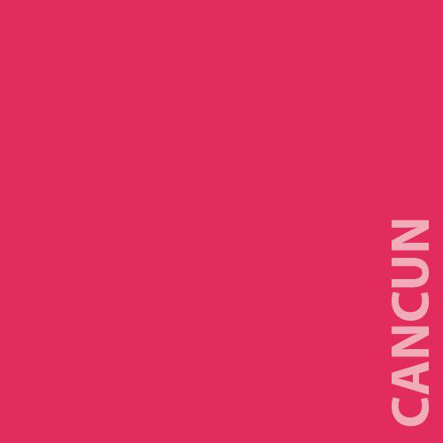 Papel Color Plus 180g A4 Cancun - Rosa Pink  - Minas Midias