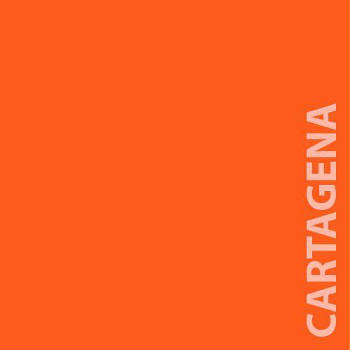 Papel Color Plus 180g A4 Cartagena - Tangerina  - Minas Midias