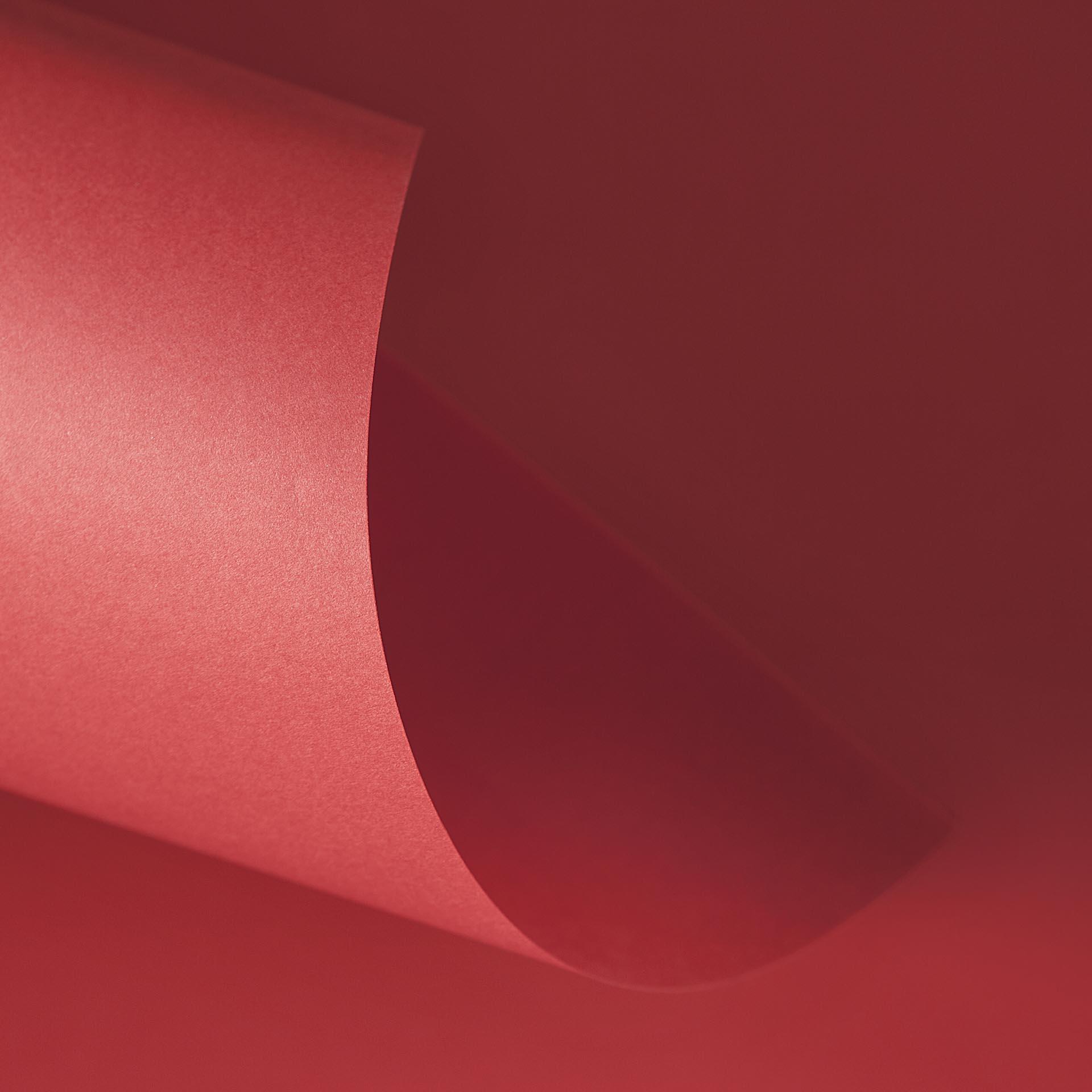 Papel Color Plus 180g A4 Tóquio - Vermelho  - Minas Midias