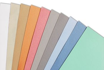 Papel Color Plus Cores Pasteis 180g 30,5 x30,5   - Minas Midias