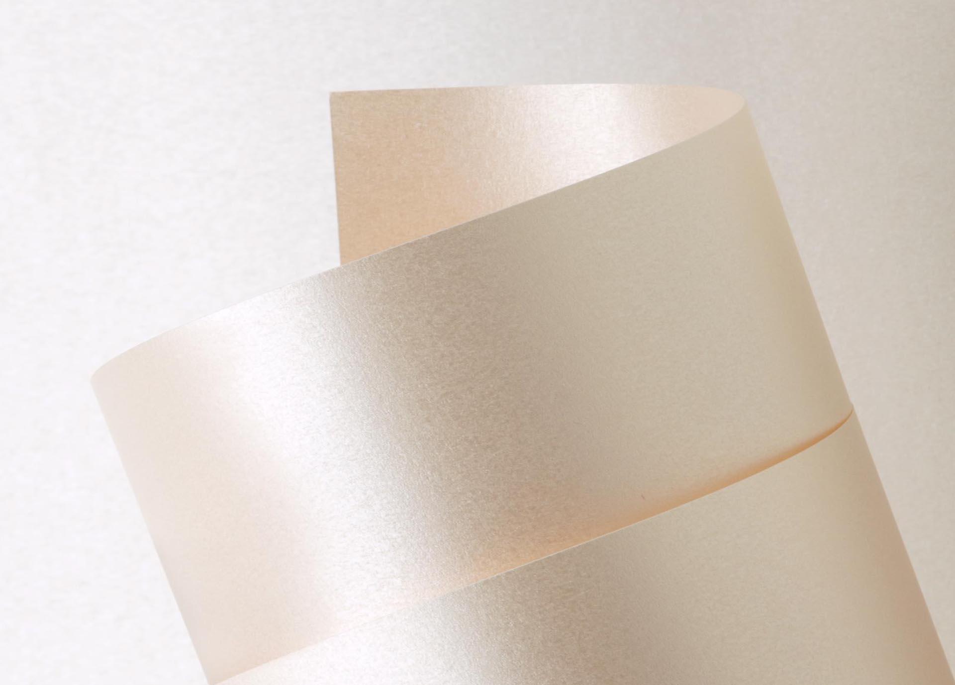 Papel Color Plus Metalizado 180g A4 Majorca - Pérola  - Minas Midias