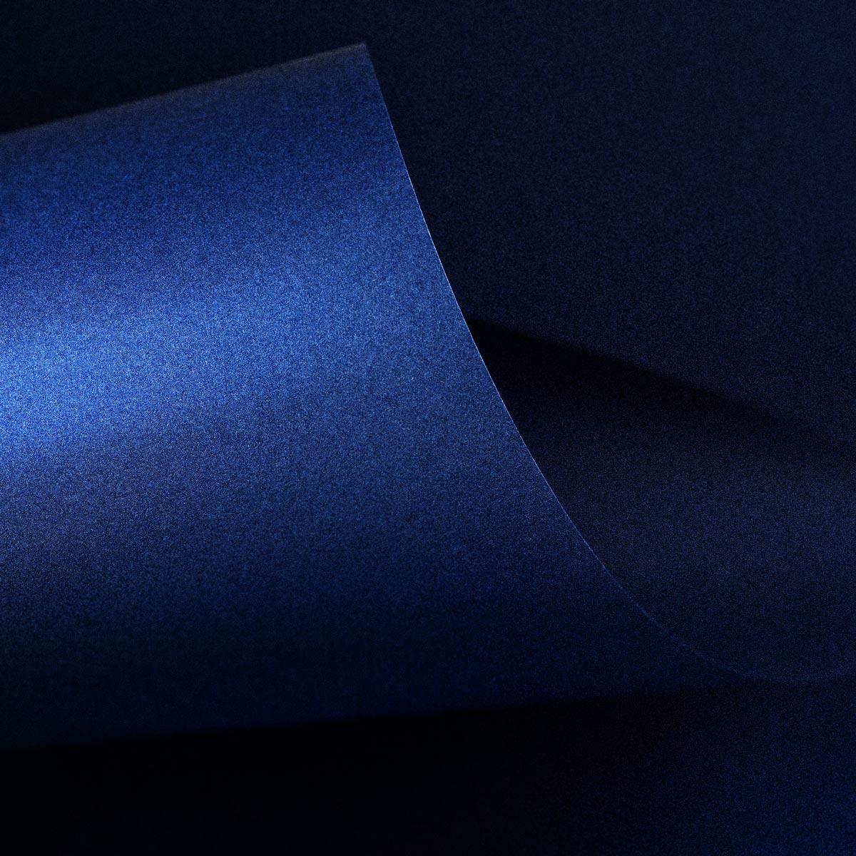 Papel Color Plus Metalizado 180g A4 Marajó - Azul Metalizado  - Minas Midias