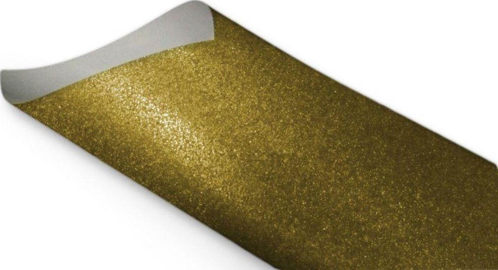 Papel Cryogen Pop Gold 140g A4 - Imitação de Glitter   - Minas Midias