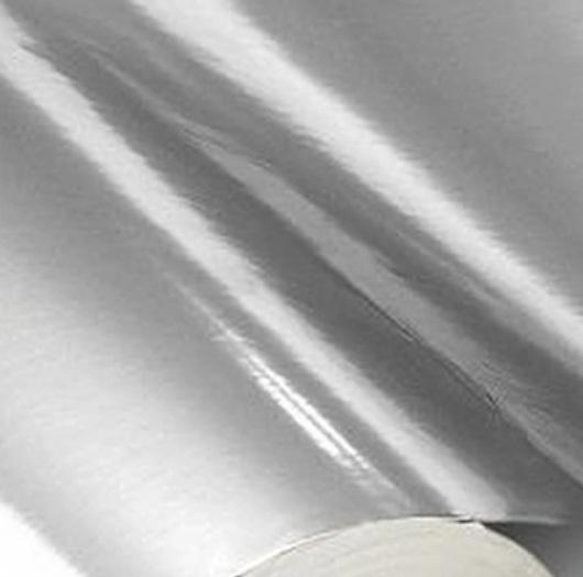 Papel Lamicote Prata 255g 30,5 x 30,5cm  - Minas Midias