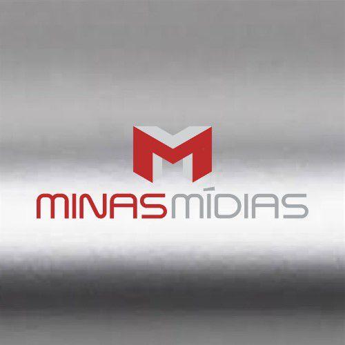 Papel Lamicote Prata 255g A4  - Minas Midias