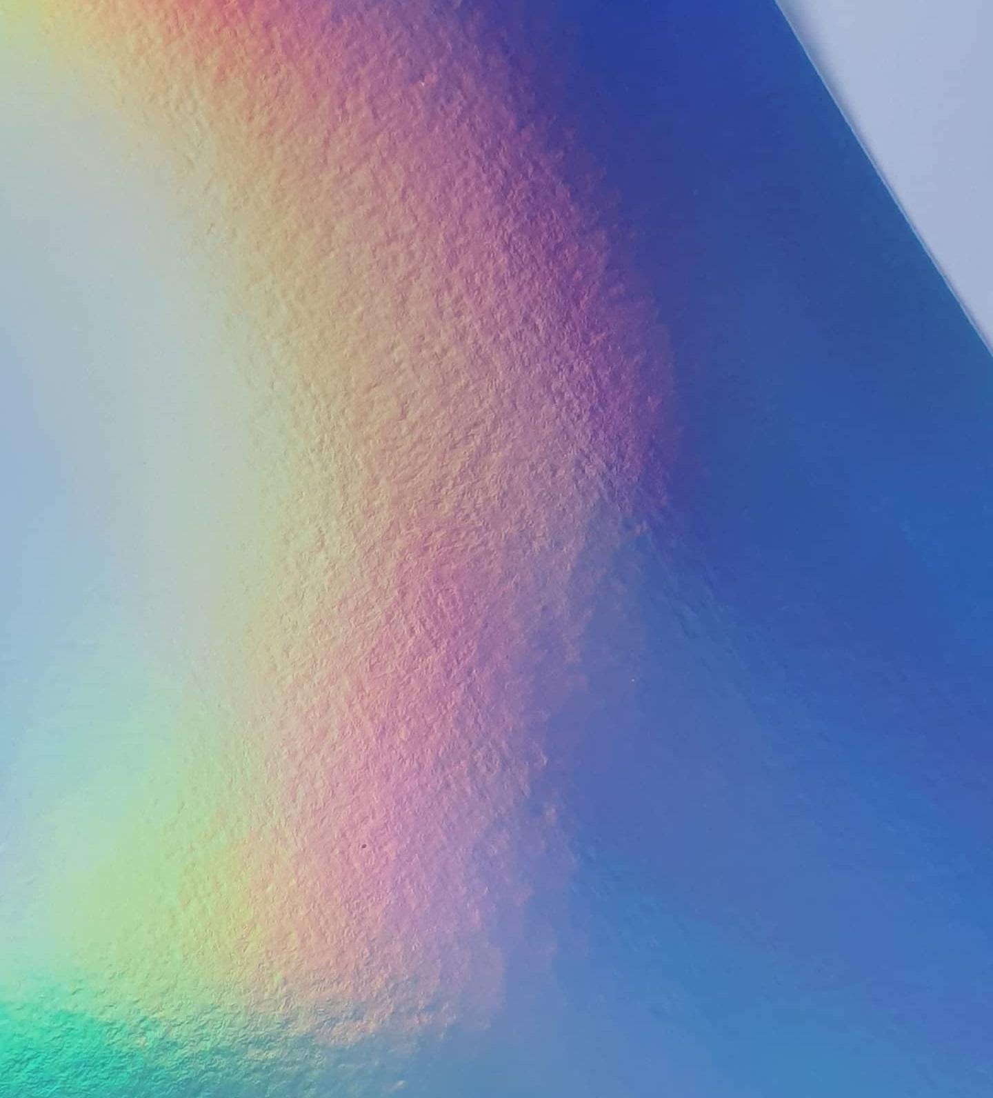 Papel Laminado Holográfico Arco-Íris 180g A4  - Minas Midias