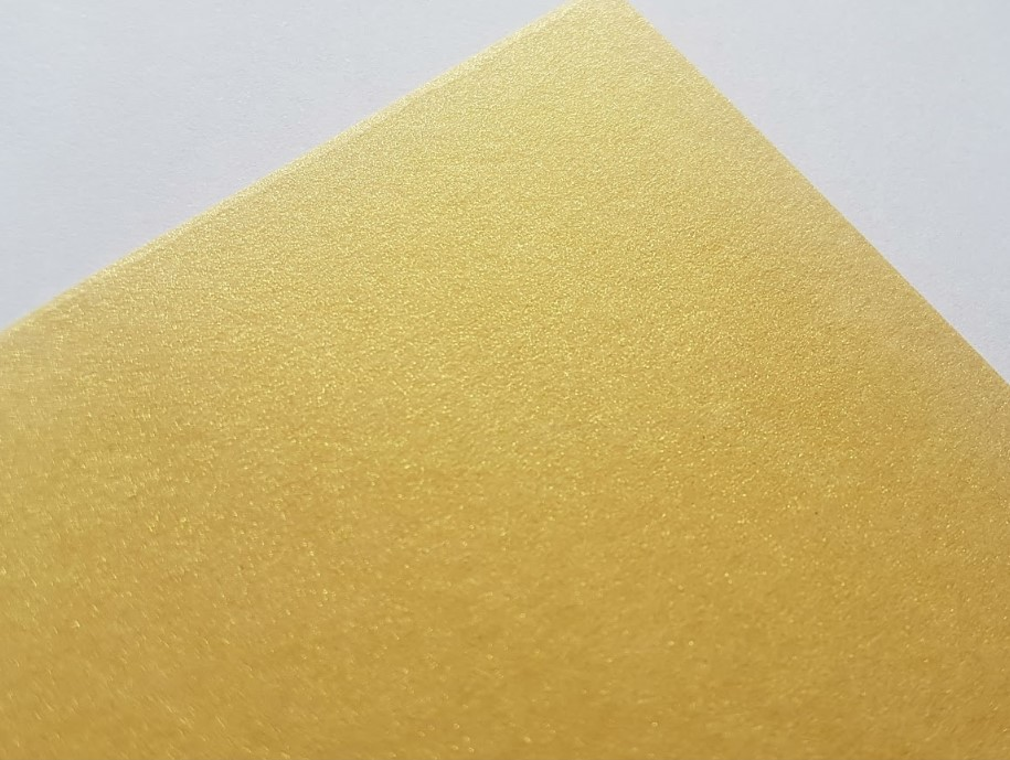 Papel Perolizado Color Golden 180g A4  - Minas Midias