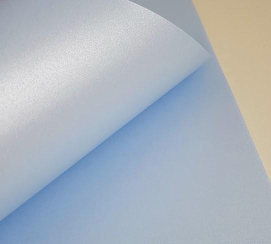 Papel Perolizado Liso Azul 180g A4  - Minas Midias