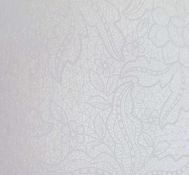 Papel Perolizado Renda Branco 180g A4  - Minas Midias