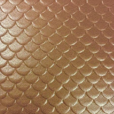 Papel TX Max Escamas Cooper 30,5 x 30,5cm  - Minas Midias