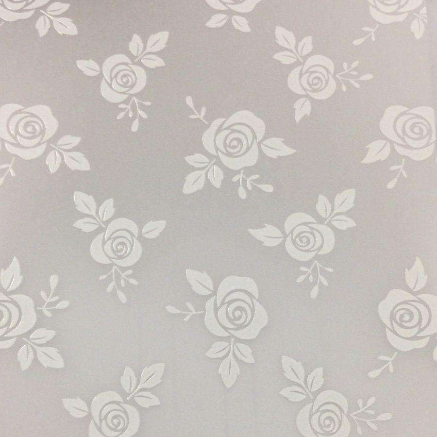 Papel Vegetal Decorado Rosas 180g 30,5 x30,5cm  - Minas Midias