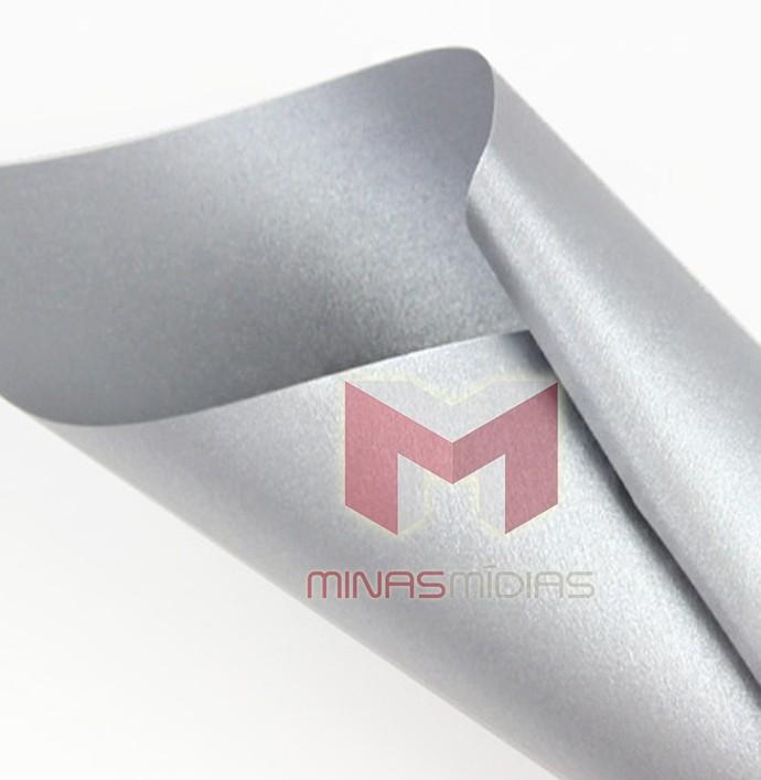 Papel Relux Aluminium 180g A4  - Minas Midias