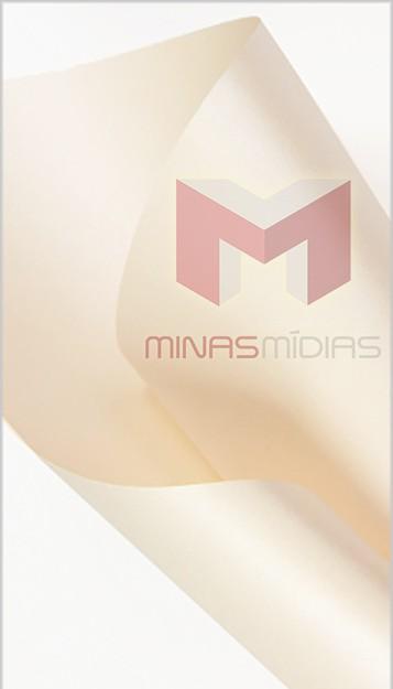 Papel Relux Champagne 180g 30,5 x30,5cm  - Minas Midias