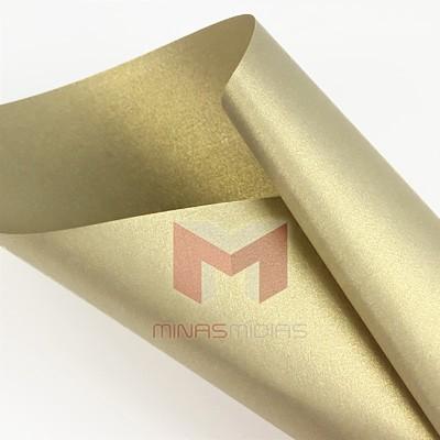 Papel Relux Ouro Platino 180g A4  - Minas Midias