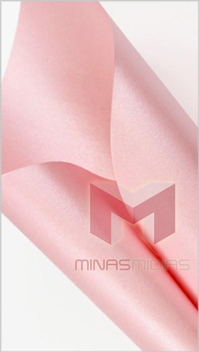 Papel Relux Sparkle Rosa Luxcent 180g 30,5 x 30,5cm  - Minas Midias