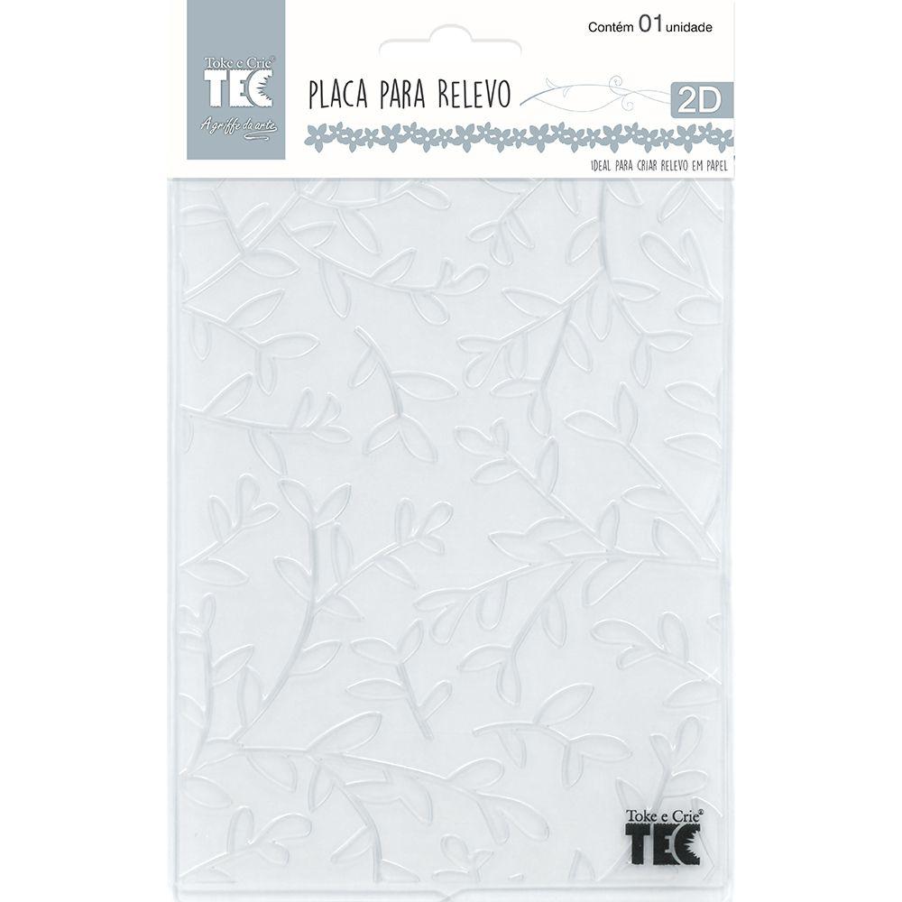 Placa para Relevo 2D Galhos 107 x 139mm  - Minas Midias