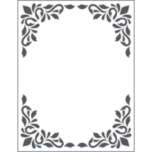 Placa para Relevo 2D Quadro Decorativo 107 x 139mm  - Minas Midias