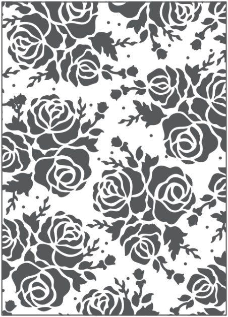 Placa para Relevo 2D Rosa 127 x 177mm  - Minas Midias