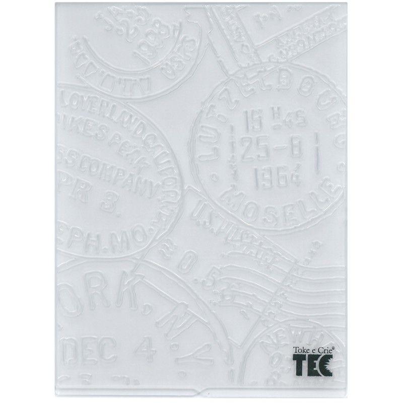 Placa para Relevo 2D Selos 107 x 139mm  - Minas Midias