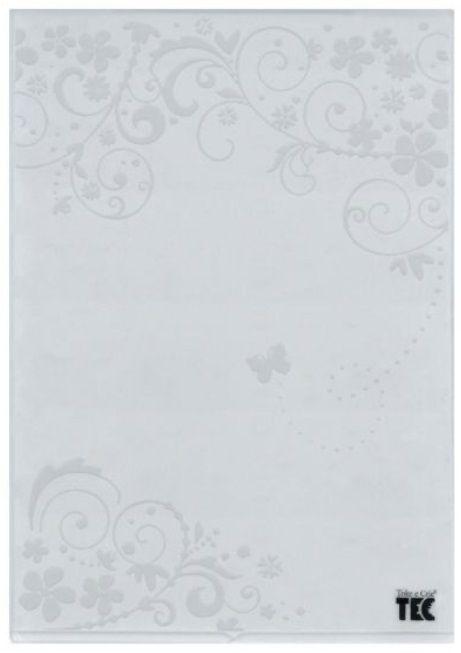 Placa para Relevo A4 2D Borboleta na Videira 210x297mm  - Minas Midias