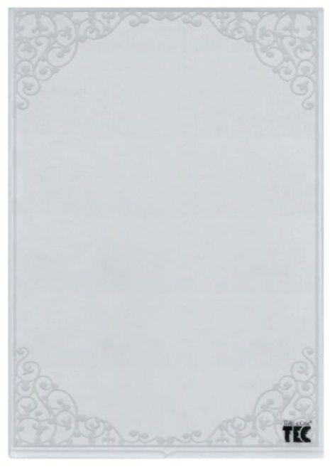 Placa para Relevo A4 2D Moldura 210x297mm  - Minas Midias