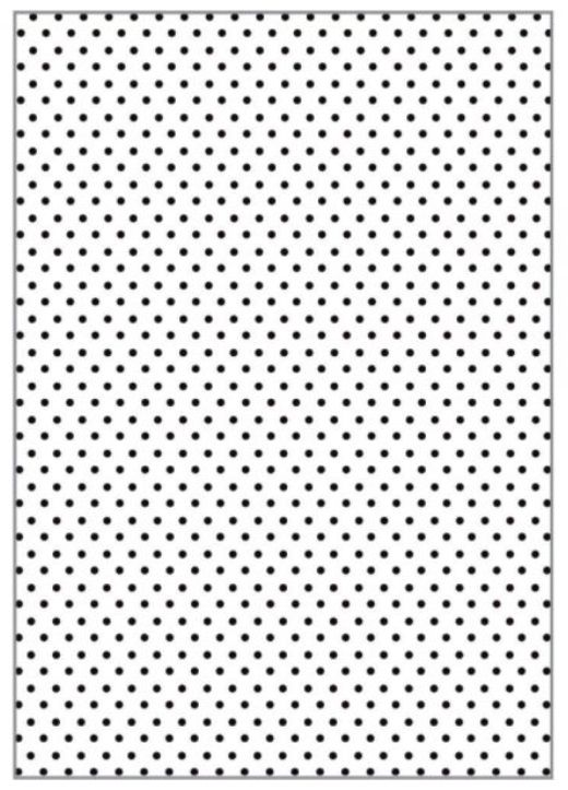 Placa para Relevo A4 2D Poá 210x297mm  - Minas Midias