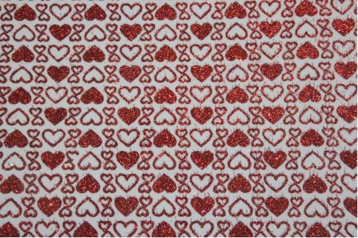 Placa de EVA Glitter Estampado Love  - Minas Midias